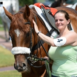 Ženy a dívky okolo koní podruhé
