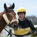 Ženy a dívky okolo koní počtvrté
