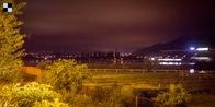 Velká Chuchle - stav v noci